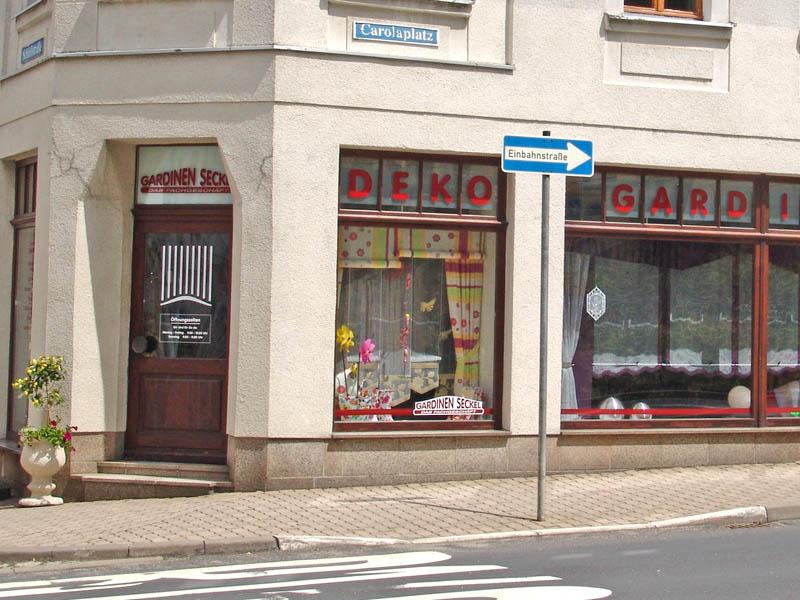 Geschäft Falkenstein - Die Ansicht