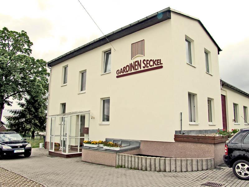 Firmensitz der Gardinen-Seckel GmbH