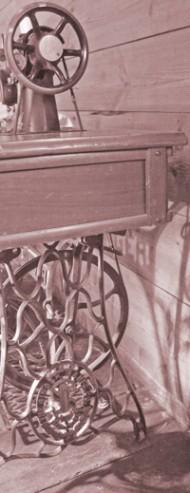 Alte Singer-Nähmaschine