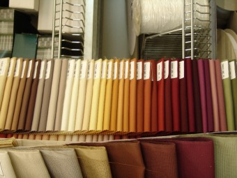 Farbpalette für Stoffe