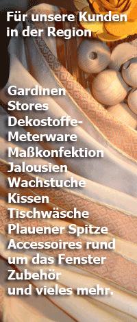 Unsere Shops – Gardinen Seckel